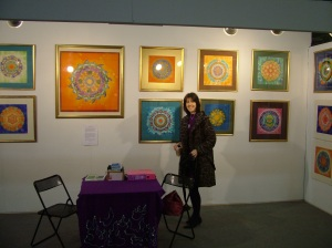 Fiona at Art Ireland March 2008