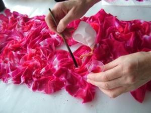 silk painting, fiona stolze